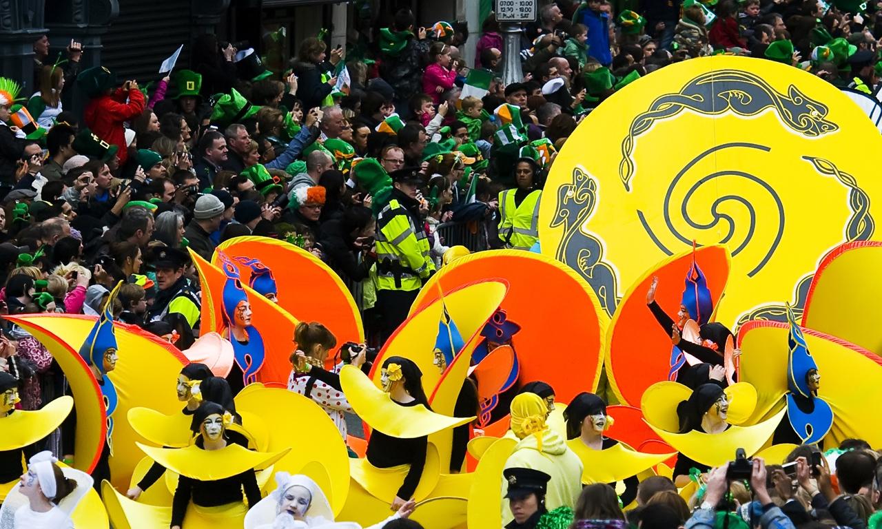 st patricks day parade dublin